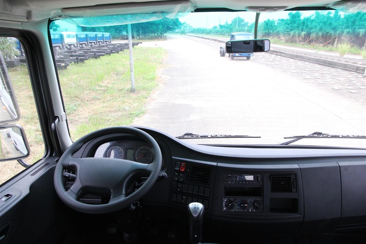 Nội thất cabin xe tải Veam VPT880