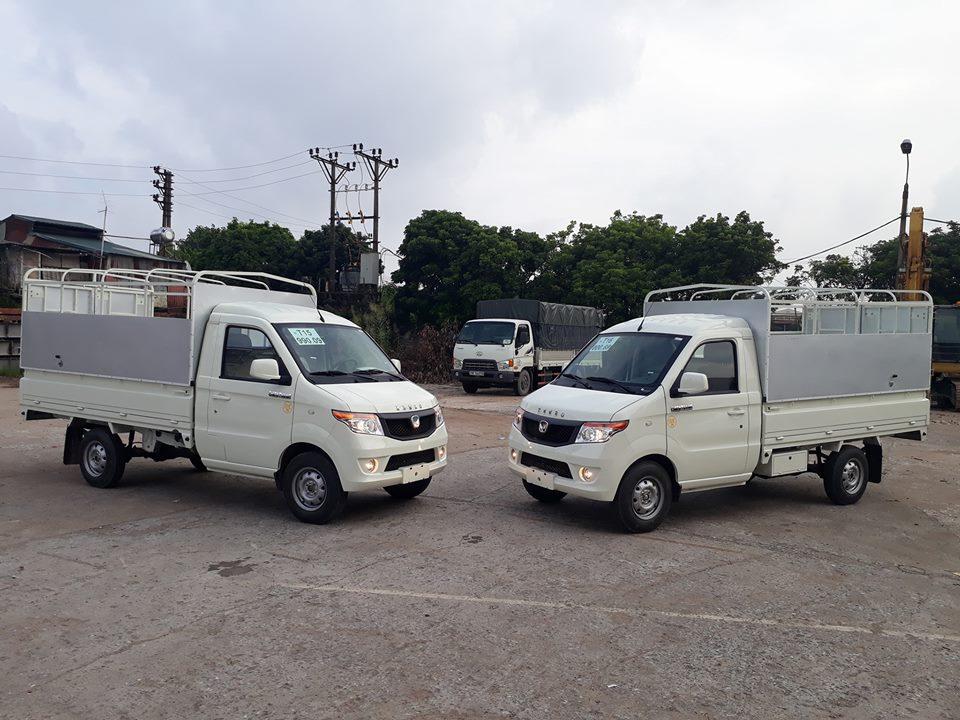 Xe tải Kenbo 990kg thùng khung mui